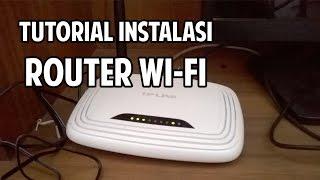 [CARA MUDAH] Tutorial Instalasi Wifi untuk First Media dan Provider internet lain di rumah Anda