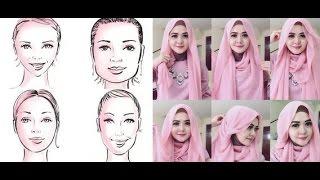 تعرفي على لفت الحجاب التي تتناسب مع وجهك - كوني أكثر جمالا