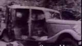 BONNIE and CLYDE AMBUSH CAUGHT ON FILM