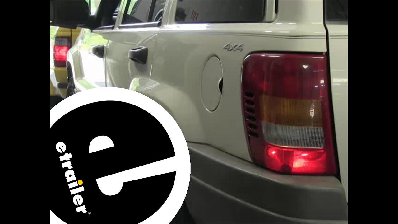 medium resolution of blue ox tail light wiring kit installation 1999 jeep grand cherokee etrailer com