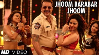 POLICEGIRI JHOOM BARABAR JHOOM VIDEO SONG | SANJAY DUTT, PRACHI DESAI
