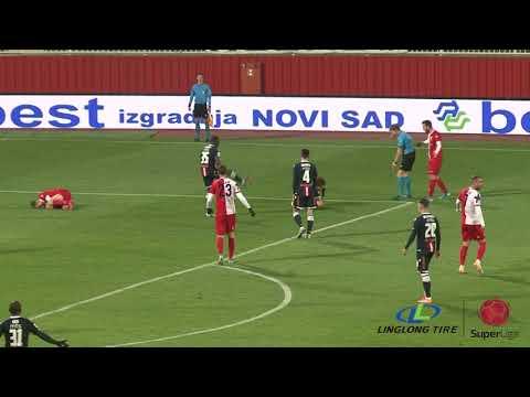 Vojvodina Crvena Zvezda Goals And Highlights