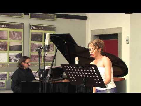 Aulon Naci : Risveglio per voce e pianoforte. Anna Viola e Marius Bartoccini.