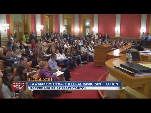 Lower tuition for illegal immigrant students up for first vote