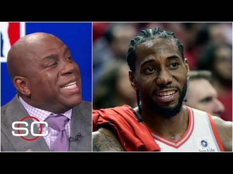 Magic Johnson has one reason why he's picking Raptors over Warriors in Game 1 | SportsCenter