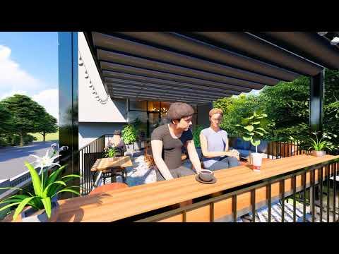 Gu Architects - Dậu Cafe - Phim  Lumion 8