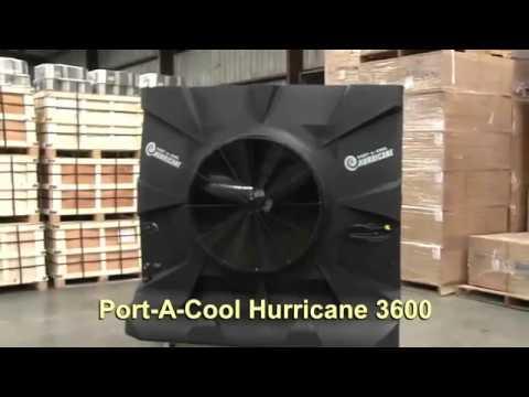 Portacool Hurricane    3600    Review  YouTube