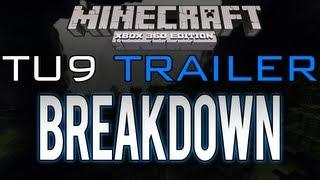 "Minecraft: Xbox 360 - ""TU9"" Trailer Breakdown   The End, Ender Dragon, Spawn Eggs (Title Update 9)"