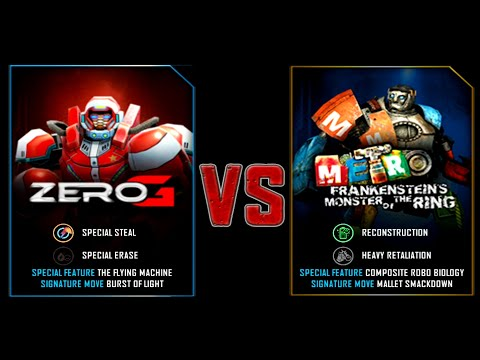 REAL STEEL WRB ZEROG VS METRO NEW LAST UPDATE