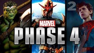 Film Marvel della fase 4 Rivelati?