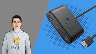 UGREEN 4 Port USB Hub 3 0 Data Hub Review Best USB Hub For Mac PC