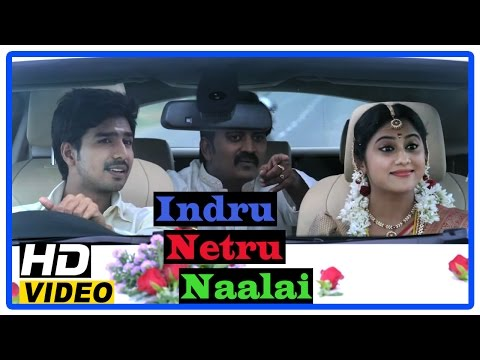 Indru Netru Naalai Tamil Movie | Climax Scene | Vishnu and Mia George get married | Karunakaran