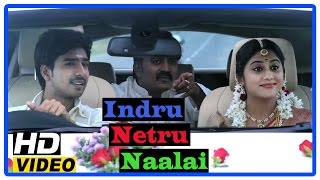 indru netru naalai tamil movie   climax scene   vishnu and mia george get married   karunakaran