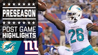 Dolphins vs. Giants | Game Highlights | NFL