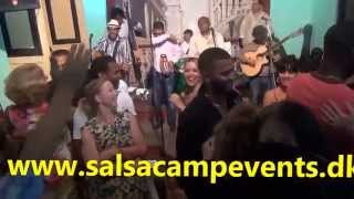 Great Fiesta Cubana with Septeto Santiaguero & Salsa Camp in Cuba 2015!