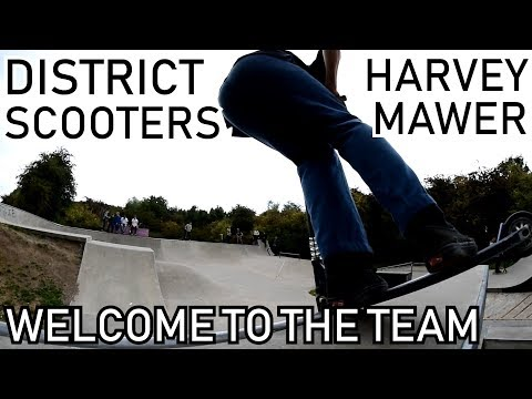 HARVEY MAWER: Welcome to District