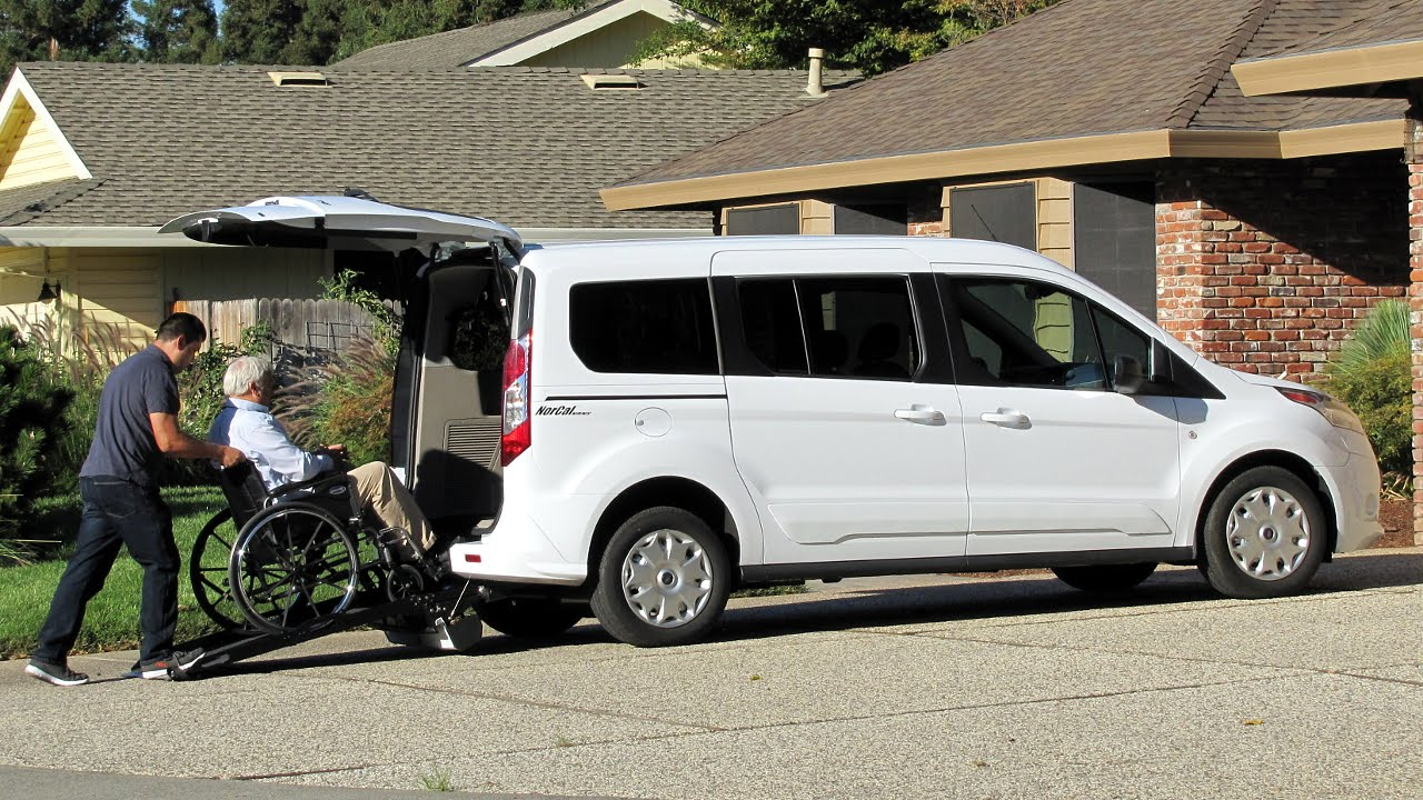 Ford transit connect wheelchair accessible nor cal vans Handicap wheelchair