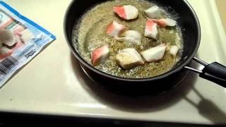 Garlic Sauteed Krab