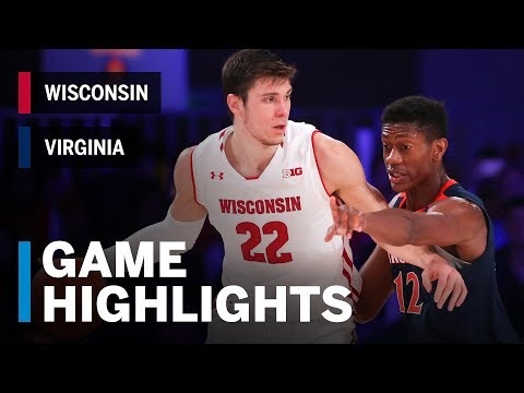 Wisconsin Badgers - Game Audio: MBB: Virginia 53, Wisconsin 46