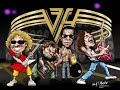 watch he video of VAN HALEN . ULTRA BASS . RIGHT HERE RIGHT NOW . I LOVE MUSIC