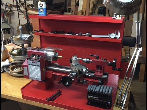 Improvements to My HF Central Machinery Mini-Lathe Work Station