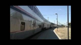 Amtrak California Zephyr: Roseville, California