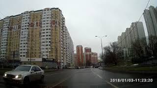 Урок в режиме экзамен.Экзаменационный маршрут Северное Бутово№7.