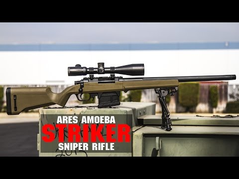 ARES Amoeba STRIKER S1 Sniper Rifle Overview | Great Sniper Rifle For Under $200? | AIRSOFTGI.COM