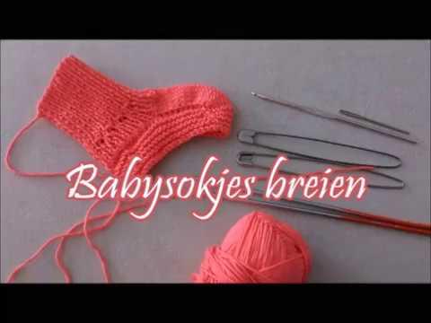 New Babysokjes breien - Breimeisje.nl - YouTube #VN25
