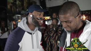 [VERBAL WAR ZONE] CRAZY HORSE VS MAD FACE/THE PURGE 3
