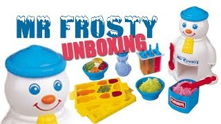 Mr Frosty Unboxing
