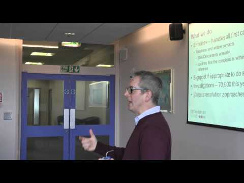 Intro to UK Ombudsman Services @ GEEKLAW ODR Certification Course