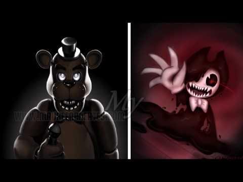 ▐ Nightcore▐ Freddy VS Bendy [Fnaf VS Batim Rap Battle]