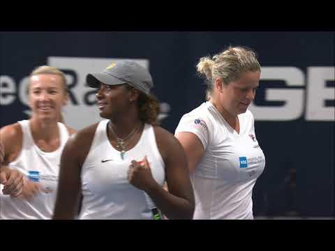 Highlights Sabine Lisicki/Kim Clijsters vs. Monica Puig 24th of July 2020 | World TeamTennis