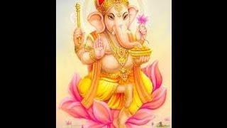 Ganesh Stotra Pranamya Shirasa Devam Gauri Putram Vinayakam - Slokam Sloka Chant -