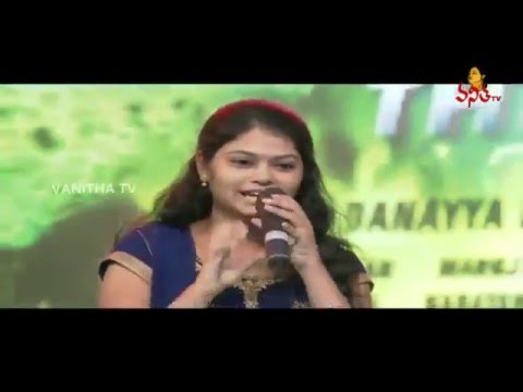 Ramya Beharaand Singers Deepak Performance at Bruce Lee Audio LaunchRam Charan