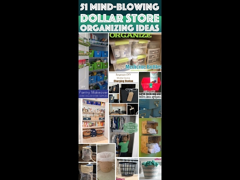 51 Ideas To Get Your Home Organized