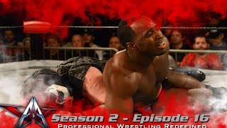 aaw pro wrestling season 2 episode 16 christian faith vs ach