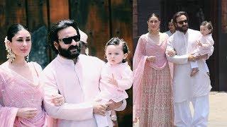 Taimur Looking So Cute at Sonam Kapoor Wedding | Video