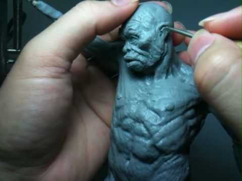 An Anatomical Study through Sculpting - Part 1