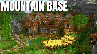 Minecraft | Mountain Base for Minecraft 1.16 | WORLD DOWNLOAD - Easy Great Looking Base (2020)