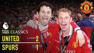 Manchester United 2-1 Tottenham (98/99) | Premier League Classics | Manchester United