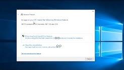 Install Net Framework 3.5 On Windows 10 [Tutorial]