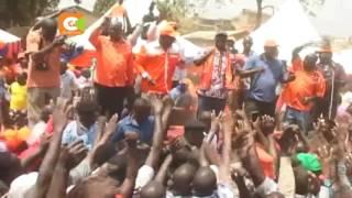 Raila na Wetang'ula wapiga kambi Bungoma
