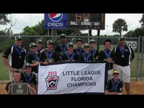 Viera - Suntree Little League All Star Team 2010