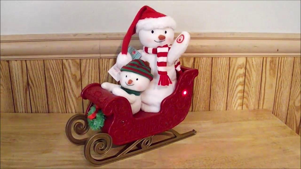 New Sledding Santa Hallmark Keepsake 2016