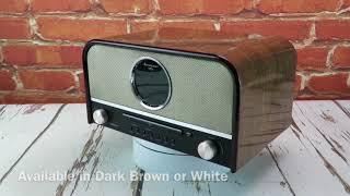 soundmaster highline NR850 Retro Bluetooth FM / DAB Radio CD Player