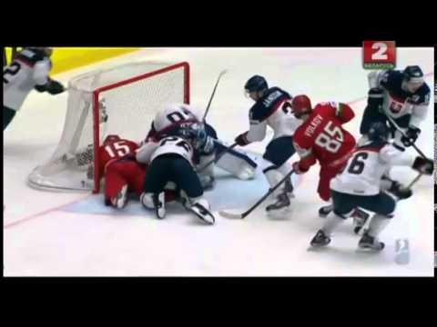 Хоккей 03 05 2015 Беларусь  Словакия  1-2ОТ Чемпионат мира по хоккею 2015