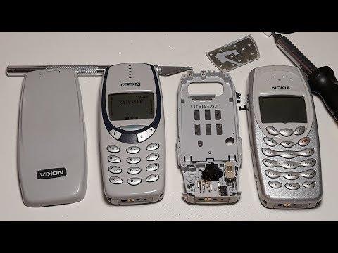 Трудное восстановление ретро телефона Nokia 3330 из Германии с аукциона