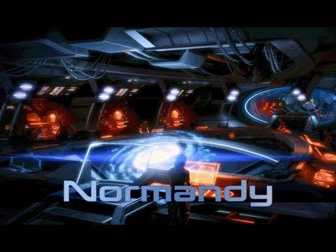 Mass Effect 3 - Normandy: Combat Information Center (1 Hour of Ambience)